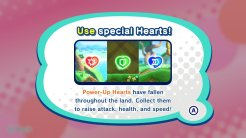 Kirby Star Allies | Power Up Hearts