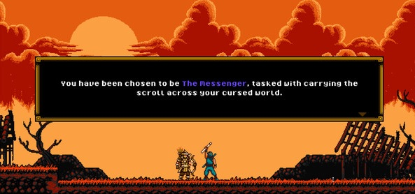 The MEssenger Screenie