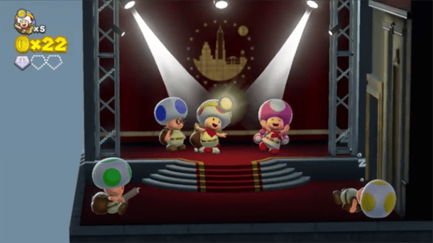 Captain Toad Treasure Tracker | Party