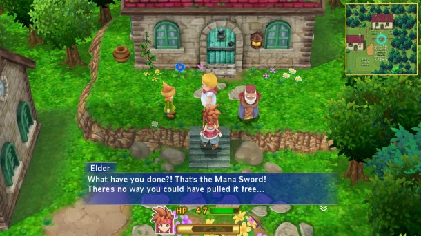 Secret of Mana Remake | Plot