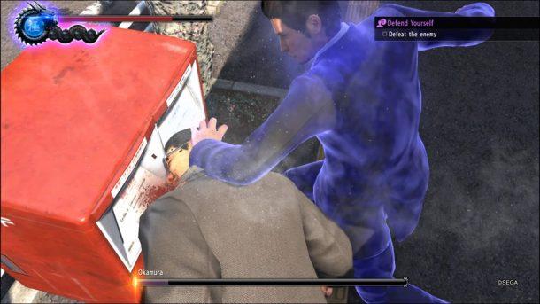 Yakuza 6 | Face Smash