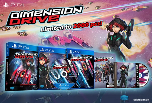 Dimension Drive | PS4 Collector's Box
