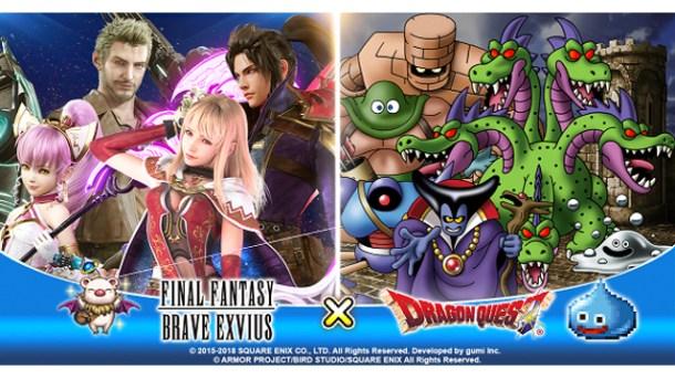 Final Fantasy Brave Exvius x Dragon Quest Event