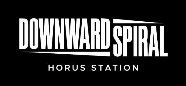 Downward Spiral: Horus Station | Logo