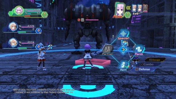 Megadimension Neptunia VIIR | Combat