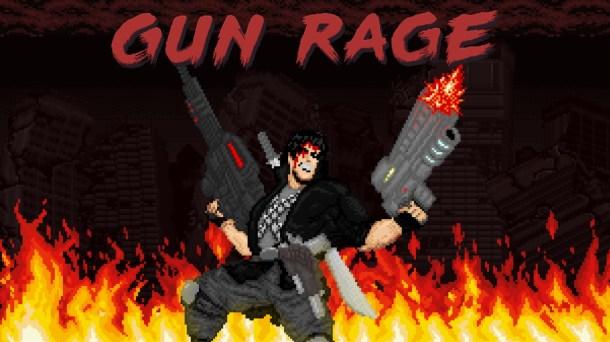 Gun Rage | Logo Art