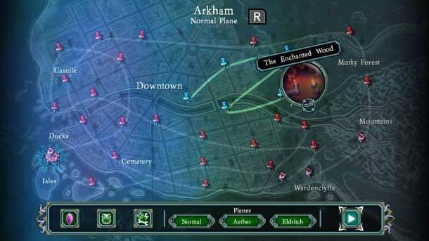 Tesla vs Lovecraft | Map