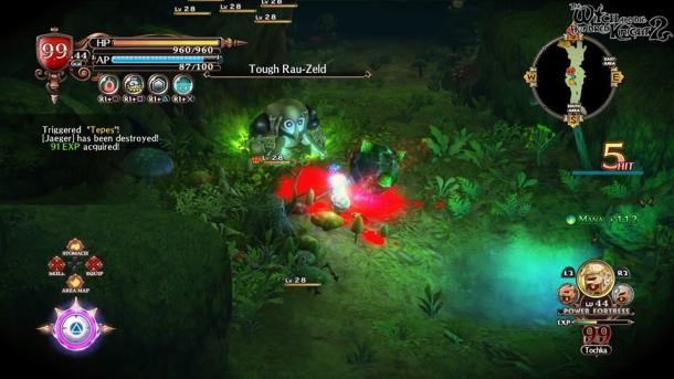 Witch and the Hundred Knight 2   Combat
