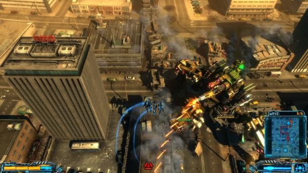 X-Morph: Defense | The 1st boss