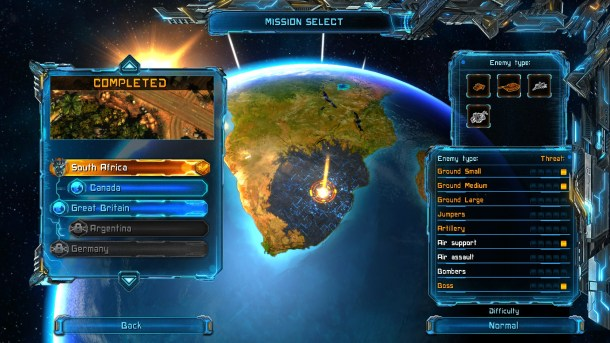 X-Morph: Defense | Campaign mode