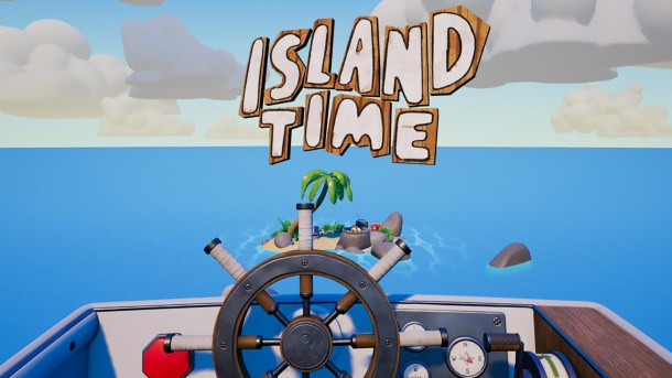 Island Time VR | Logo
