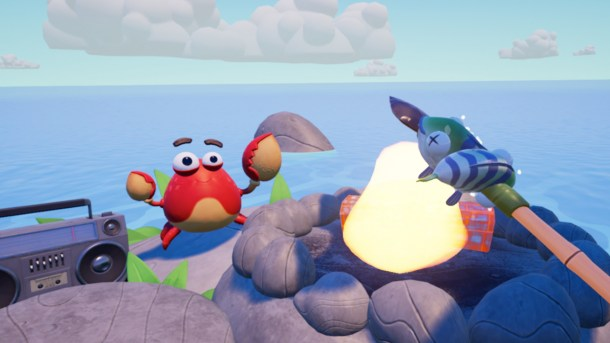 Island Time VR | Carl the Crab