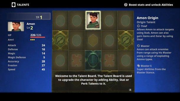 Earthlock | Talent Board