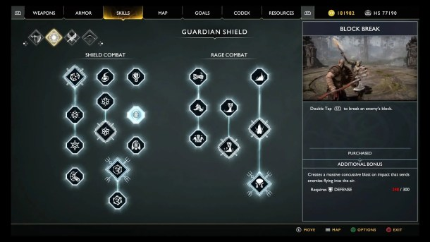 God of War | Skill Tree