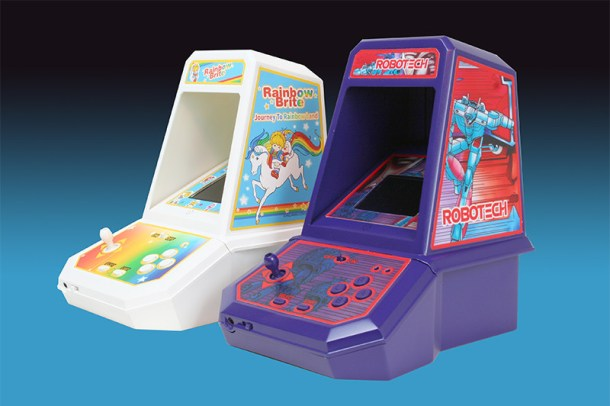 Coleco Robotech and Rainbow Brite