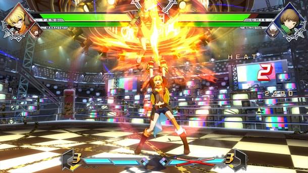 BlazBlue Cross Tag Battle Yang gameplay