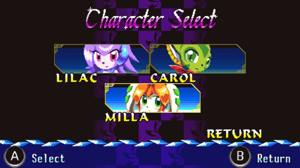 Freedom Planet   Character Screen