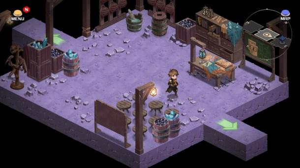 Azure Saga: Pathfinder | Basic area room