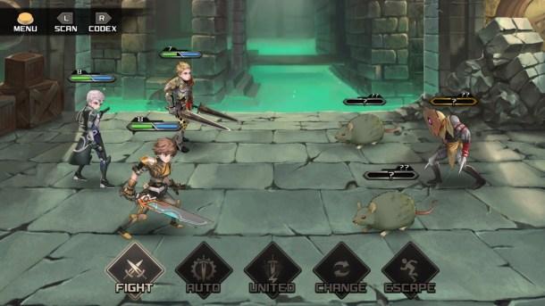 Azure Saga: Pathfinder | Command Screen
