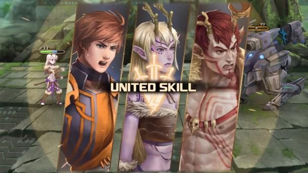 Azure Saga: Pathfinder | United Skill Used