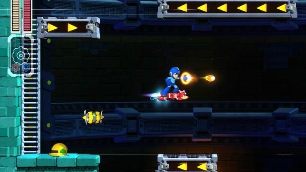Mega Man 11   Conveyors