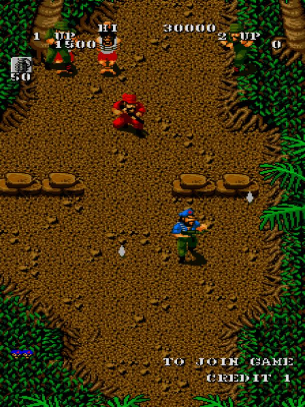 SNK 40th Anniversary | Guerilla War (Arcade) (2)