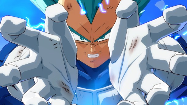 Dragon Ball FighterZ | Vegeta Close-up