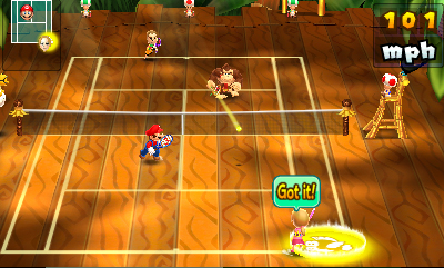 Mario Tennis Open, 3DS, 2012