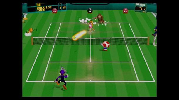 Mario Tennis, Nintendo 64, 2000