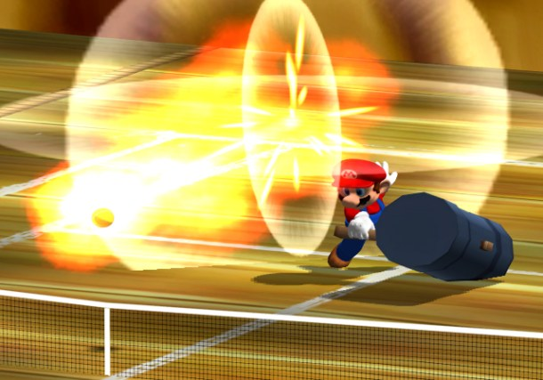 Mario Power Tennis, GameCube, 2004