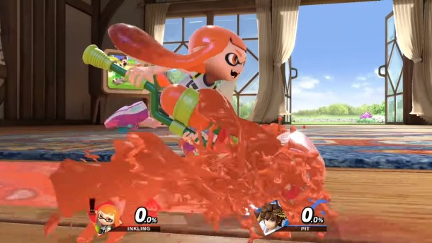 Super Smash Bros. Ultimate Inkling roller