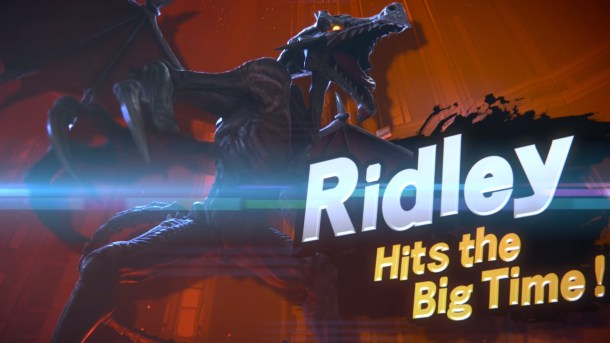 Super Smash Bros. Ultimate Ridley reveal
