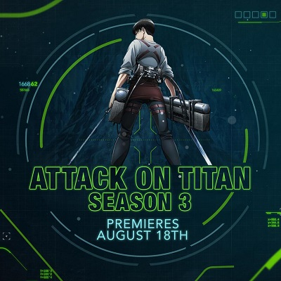 Attack on Titan 3 Toonami