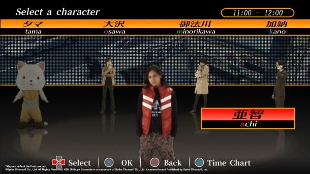 428: Shibuya Scramble | Character Select