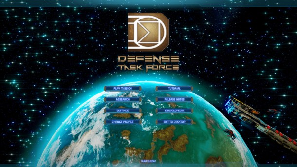 Defense Task Force | Main Menu