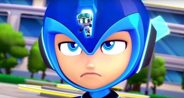 Mega Man Fully Charged Face