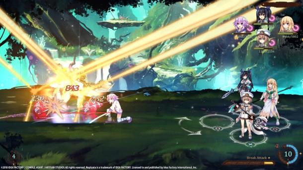 Super Neptunia RPG   Nep Attacks