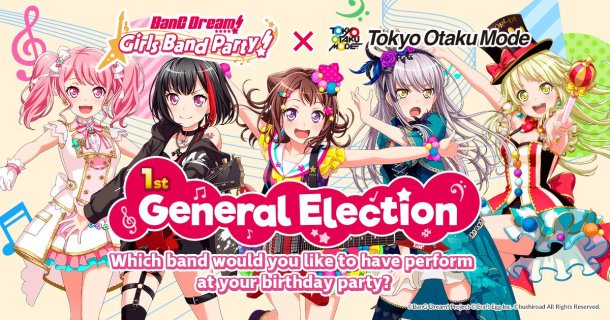 BanG Dream! | General Election