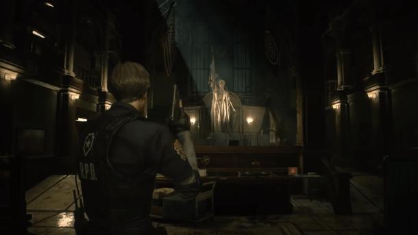 Resident Evil 2 Remake | Statue