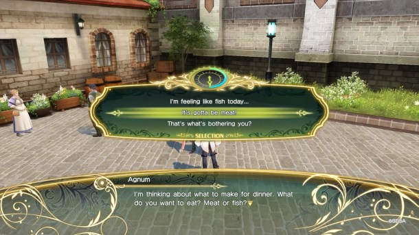 Shining Resonance Refrain | Dialogue choice