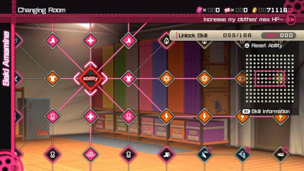 Bullet Girls Phantasia | Skills Tree
