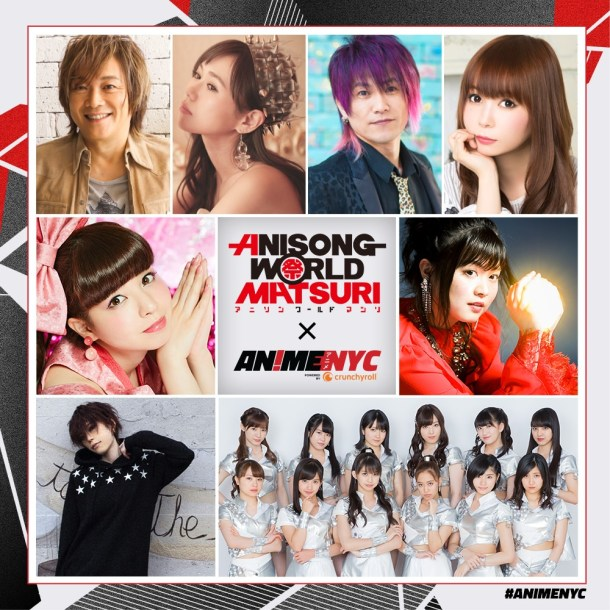 Anisong World Matsuri at Anime NYC 2018 | Artist Lineup