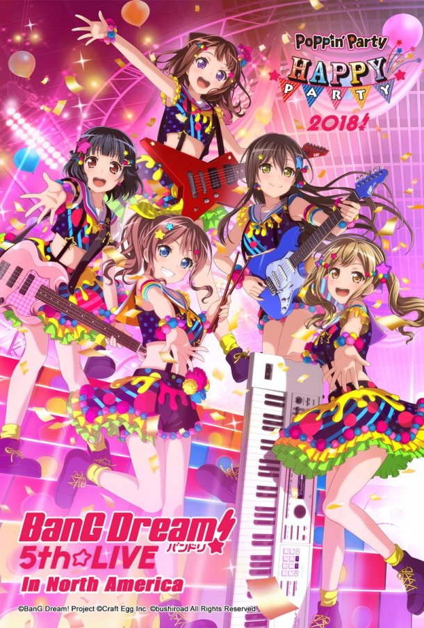 BanG Dream! 5th Live | Poppin' Party