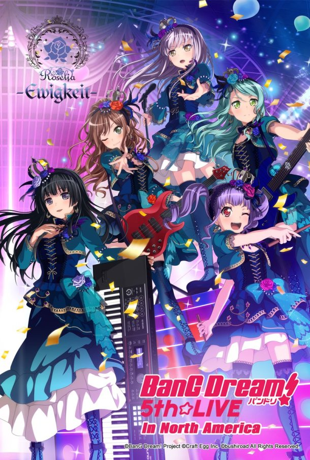 BanG Dream! 5th Live | Roselia