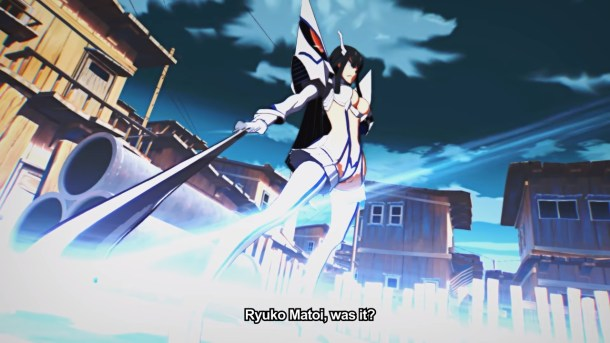 Kill la Kill the Game: IF | Satsuki Kiryuin intro