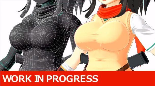 Senran Kagura 7EVEN | New Asuka Model 4