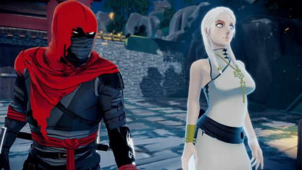 Aragami: Shadow Edition | Aragami and girl