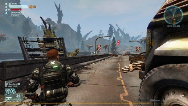 Defiance 2050 | A raider blockade
