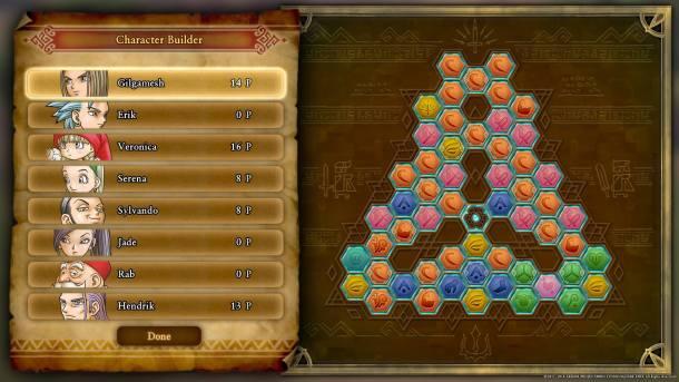 Dragon Quest XI Skill Trees