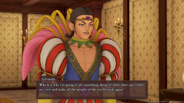 Dragon Quest XI Sylvando